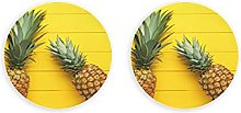 Verano Amarillo TripicalClips magnéticos de palma