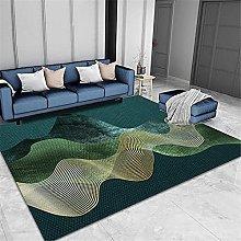 Verde Moderno Malla geométrica Bonita clásica de