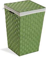 Versa, cesto ropa verde, linea baño, cestos de