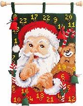Vervaco de Papá Noel Calendario de Adviento de