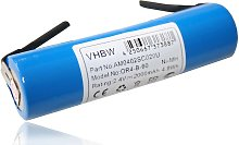 vhbw batería 2000mAh (2.4V) para rallador de
