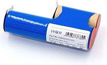vhbw batería compatible con Ariete Grati 3,6V