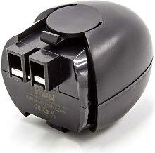 vhbw NiMH batería 1500mAh (4.8V) para herramienta