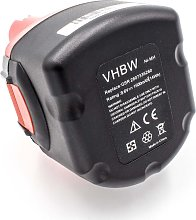 vhbw NiMH batería 1500mAh (9.6V) para herramienta