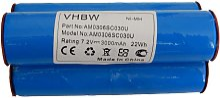 vhbw NiMH batería 3000mAh para herramienta