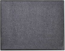 vidaXL Alfombra felpudo PVC gris 90x60 cm