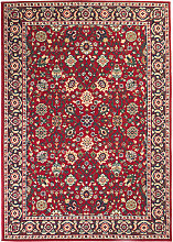 vidaXL Alfombra oriental roja/beige 120x170 cm