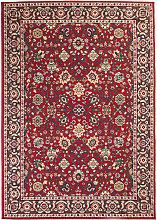 vidaXL Alfombra oriental roja/beige 140x200 cm