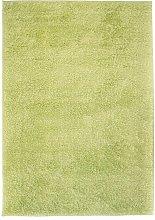 vidaXL Alfombra shaggy peluda 120x170 cm verde