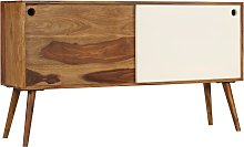 vidaXL Aparador de madera maciza de sheesham