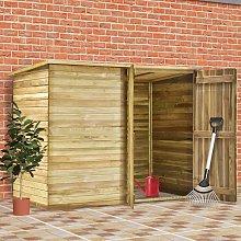 vidaXL Cobertizo para jardín de madera pino