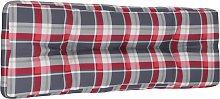vidaXL Cojín de sofá de jardín patrón de