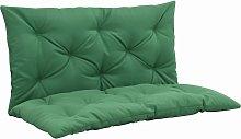 vidaXL Cojín para balancín verde 100 cm