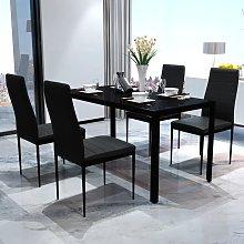 vidaXL Conjunto de mesa y sillas de comedor 5