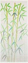 vidaXL Cortina de Bambú para Puerta Contra