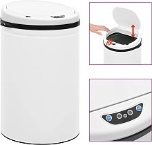vidaXL Cubo de basura sensor automático 30 L