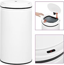vidaXL Cubo de basura sensor automático 60 L