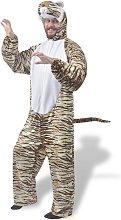 vidaXL disfraz de carnaval tigre XL-XXL