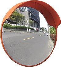vidaXL Espejo de tráfico convexo plástico
