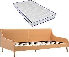 vidaXL Estructura sofá cama colchón espuma