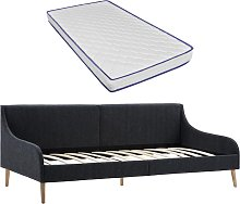 vidaXL Estructura sofá cama con colchón