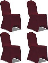 vidaXL Funda para silla elástica 4 unidades