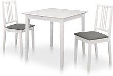 vidaXL Juego de muebles de comedor 3 piezas MDF
