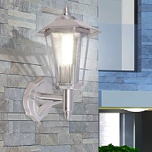 vidaXL Lámpara de pared vertical para exterior de