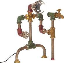 vidaXL Lámpara de pie industrial diseño de