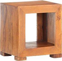 vidaXL Mesa auxiliar madera maciza de sheesham
