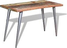 vidaXL Mesa de comedor madera maciza reciclada
