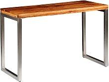 vidaXL Mesa de salón o escritorio madera sheesham