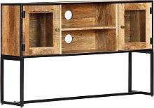 vidaXL Mueble para la TV de madera maciza