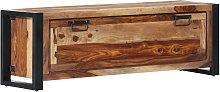 vidaXL Mueble zapatero de madera maciza sheesham