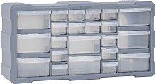 vidaXL Organizador multicajones con 22 cajones