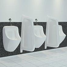 vidaXL Separador de privacidad de urinario de
