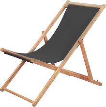 vidaXL Silla de playa plegable estructura de