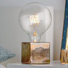 Villeroy & Boch Helsinki, lámpara de mesa bronce