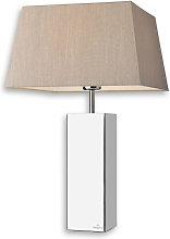 Villeroy & Boch Praga, lámpara de mesa en tela