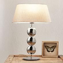 Villeroy & Boch Sofía lámpara de mesa, base plata