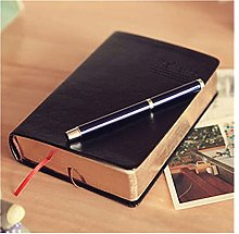 Vintage Papel Grueso Notebook Bloc de Notas Biblia