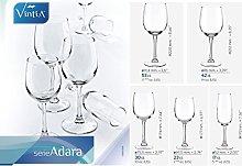 Vintia - Cristaleria Adara 18p.