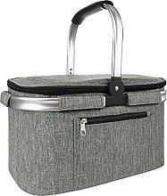 Vintoney cesta picnic, cestas para vajilla de