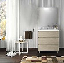 VISOBATH BOX Conjunto Mueble 3C Crudo - Medida: