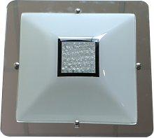 Vitrimur - PLAFON LED CUADRADO SERENA Color Cromo