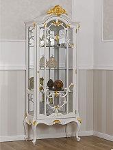 Vitrina Brigitte estilo Barroco Decape 1 puerta