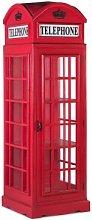 Vitrina cabina teléfono Estilo Británico grande