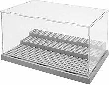 Vitrina de acrílico de 3 Pasos/Caja Base de