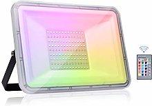 Viugreum 100W RGB LED Foco de Colores, IP67 Foco
