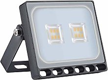 Viugreum 10W LED Foco Exterior de alto brillo, Led
